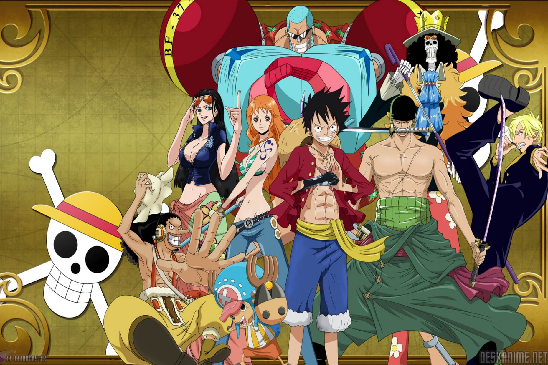 Theme One Piece Mới Cho Windows 7/8